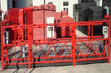 800 किलोग्रॅम रेटेड लोडसह इमारत साफ करणारे कार्यरत प्लॅटफॉर्म zlp800