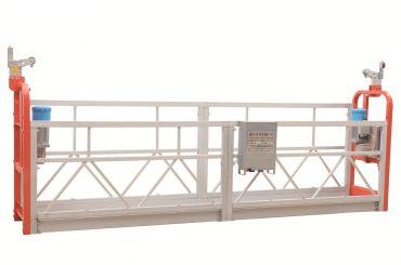 zlp630 चित्रित स्टील मुखवटा स्वच्छता कार्यरत प्लॅटफॉर्म निलंबित