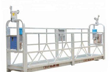 10 मीटर 800 कि.ग्रा. निलंबित मचान यंत्रणा अॅल्युमिनियम मिश्र धातु उंची उचलता 300 मी