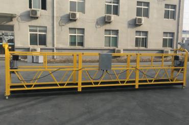 बांधकाम करण्यासाठी सीई प्रमाणित zlp630 अॅल्युमिनियम इलेक्ट्रिक हँगिंग गोंडोला