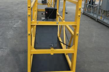 बांधकाम करण्यासाठी 7.5 मीटर अस्थायीपणे निलंबित वायर रॅप मंच