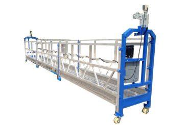 500 किलो 2 एम * 2 सेक्शन अॅल्युमिनियम मिश्र धातुद्वारे प्रवेश उपकरणे zlp500
