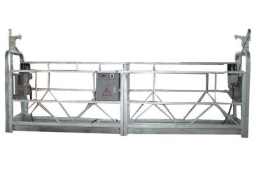 अॅल्युमिनियम मिश्र / स्टील / गरम गॅल्वनाइज्ड निलंबित प्रवेश उपकरणे zlp1000