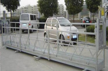 खिडकी स्वच्छता यंत्रासाठी zlp630 रॅप निलंबित मंच / इलेक्ट्रिक स्विंग स्टेज / मचान