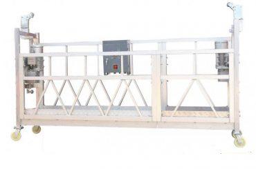बिल्डिंग फॅकेड पेंटिंगसाठी स्टील पेंटेड हॉट गॅल्वनाइज्ड अॅल्युमिनियम जेएलपी 630 निलंबित वर्किंग प्लॅटफॉर्म