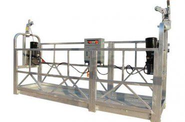एल्युमिनियम मिश्र धातु निलंबित मंच / गोंडोला / स्काफॉल्डिंग zlp 630